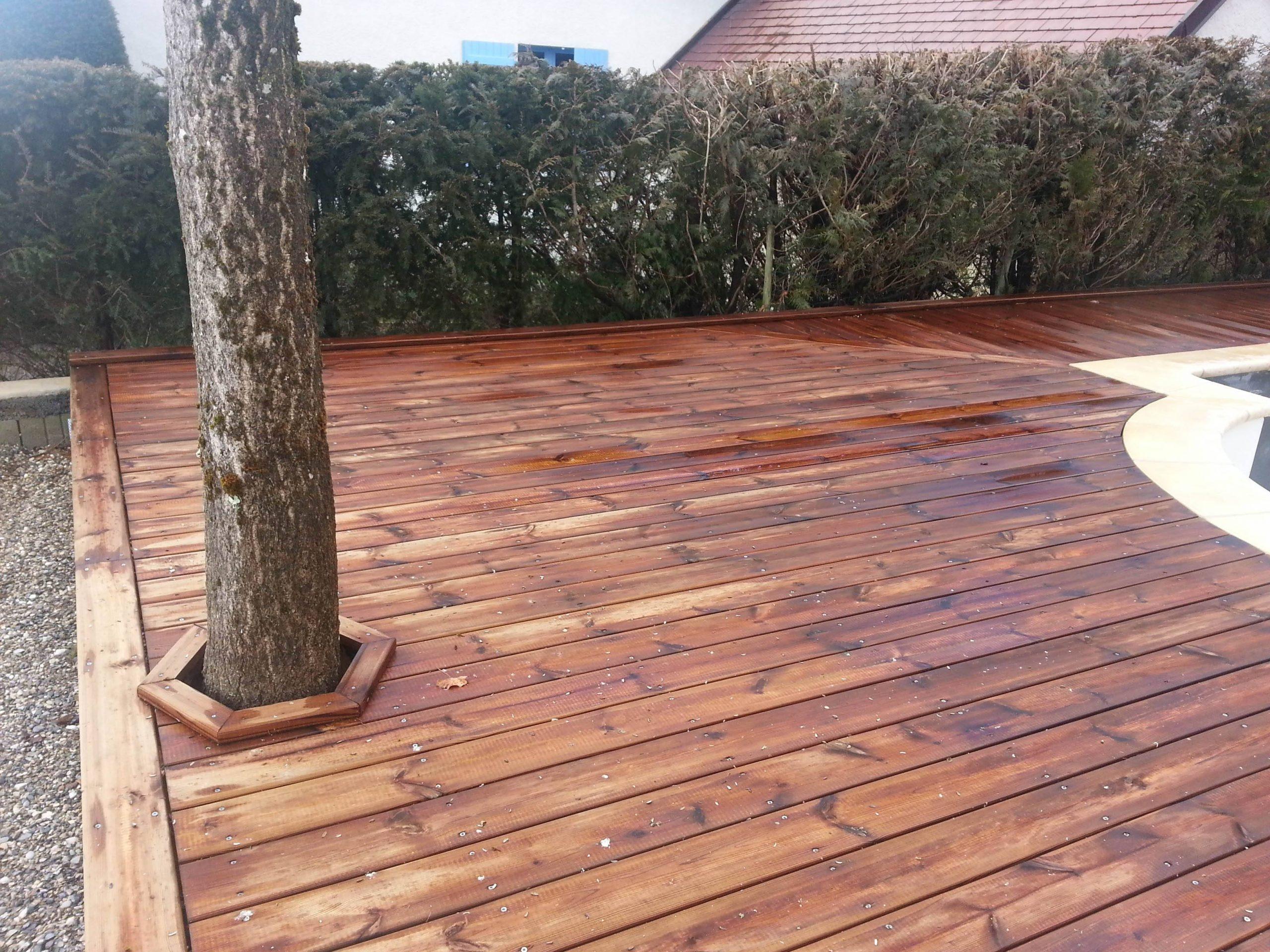 terrasse bois francais