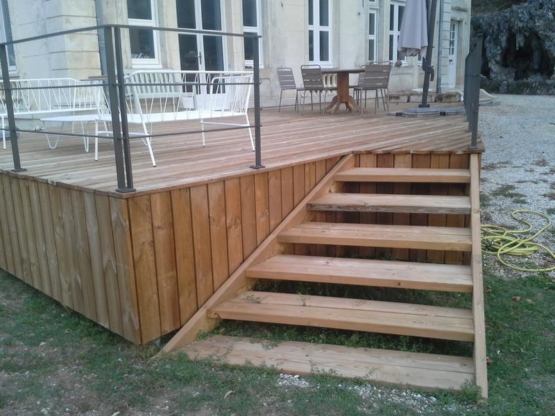 terrasse bois culoz